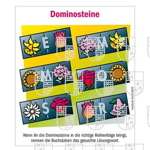 0101-0246 Dominosteine Kinderrätsel online Rätsel kaufen