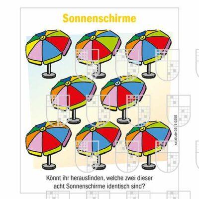 0101-0250 Sonnenschirme Kinderrätsel online Rätsel kaufen