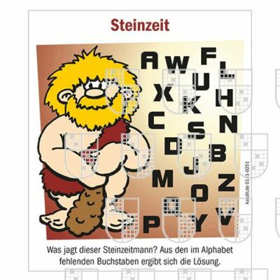 0101-0251 Steinzeit Kinderrätsel online Rätsel kaufen