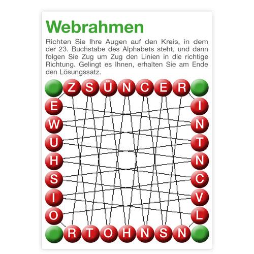 0624-0004 Webrahmen