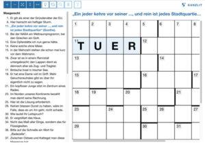 Online-Scharfer-Denker Kanzlit Rätsel Anbieter