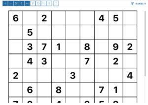 Online-Sudoku Kanzlit Rätsel Anbieter