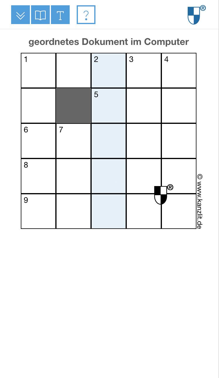 Konservatives-mobil-5x5 Responsiv Rätsel Online Rätsel