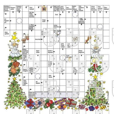Motivraetsel-Weihnachten-2 Rätsel Online kaufen