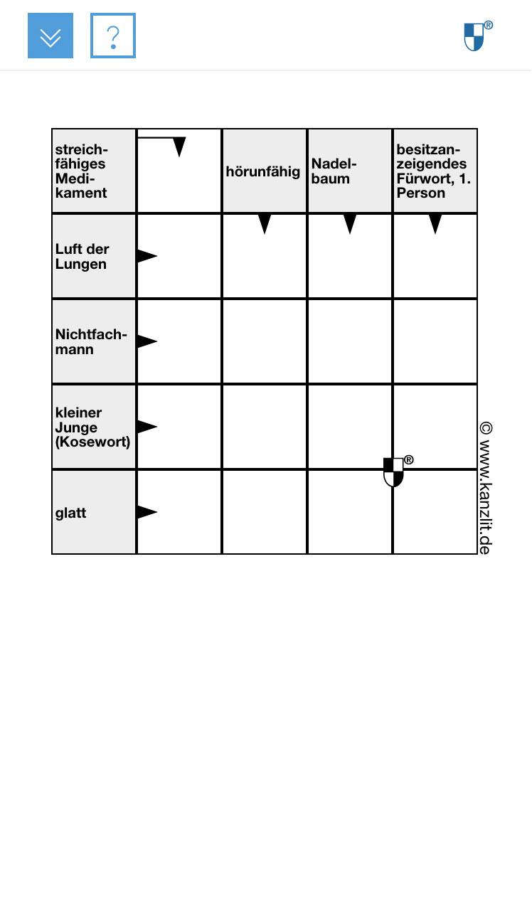 Schwedenraetsel-Kreuzwortraetsel-5x5-mobil Responsiv Rätsel Online Rätsel