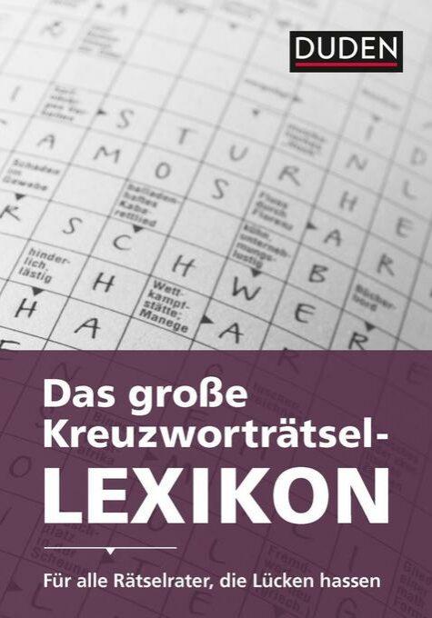Das große Kreuzworträtsel Lexikon – Unsere Kooperation mit Duden